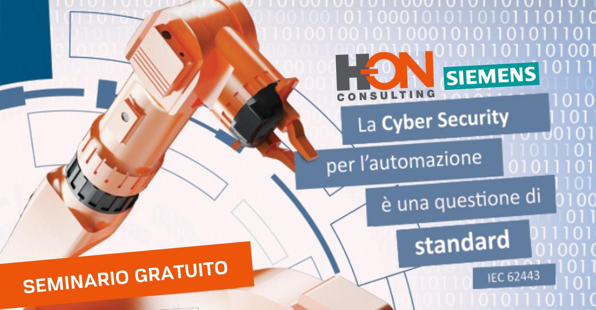 Invito seminario hon e Siemens su cyber security