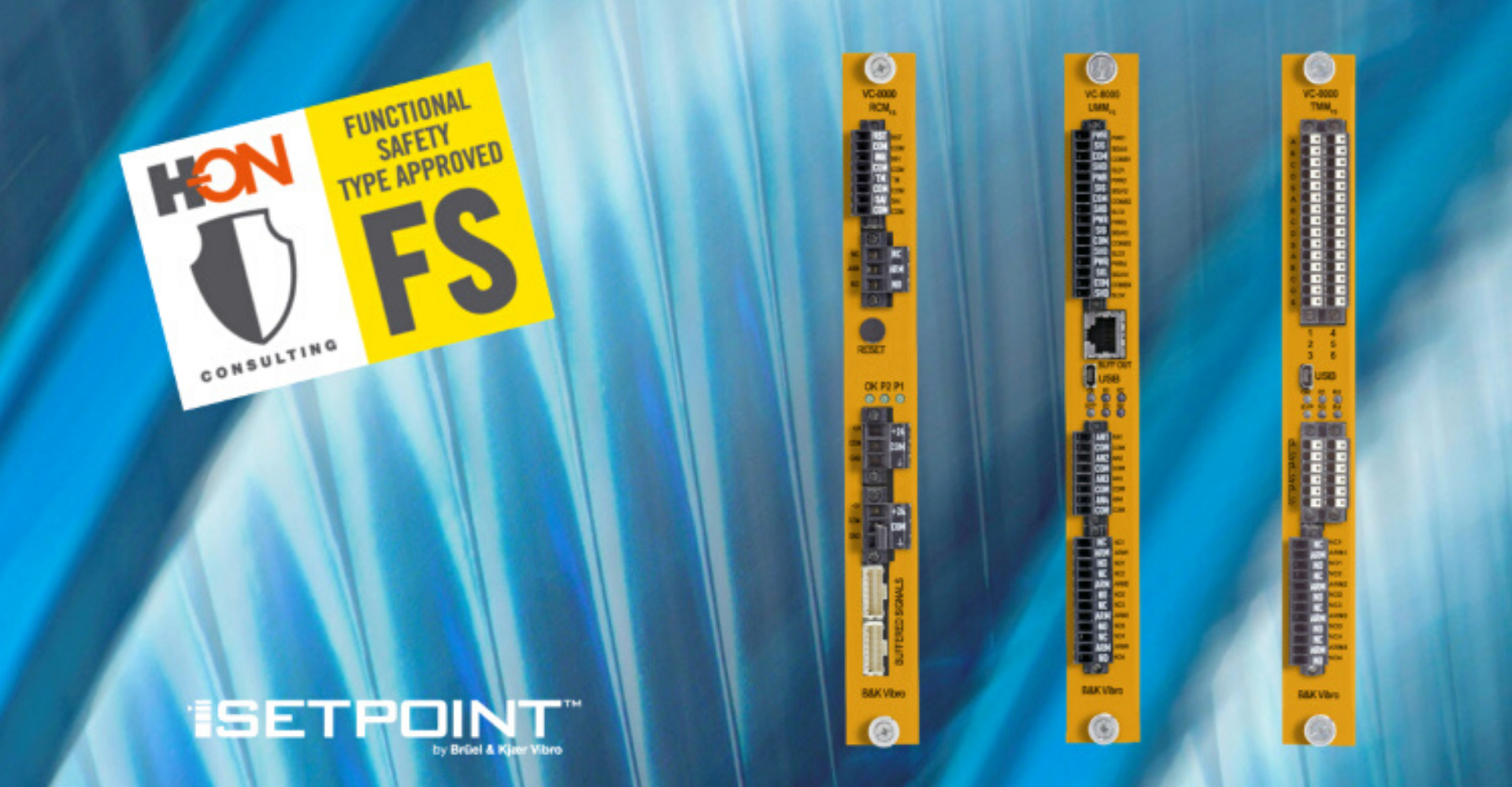 VC-800 SETPOINT SIL certified by H-ON