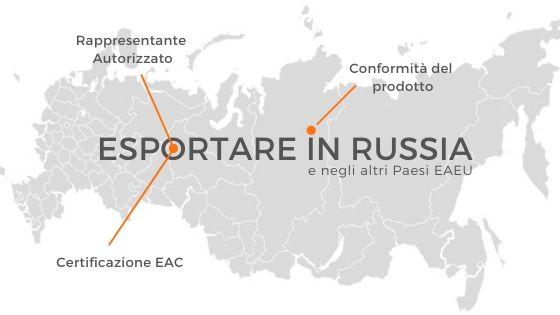 esportare in russia
